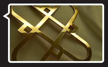 Decorative Bronze Grille